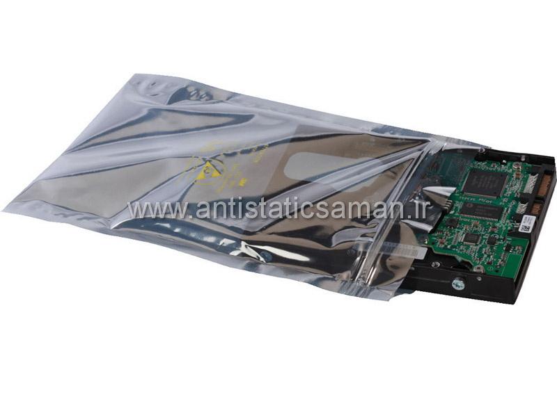 پاکت آنتی استاتیک بسته بندی قطعات الکترونیکی